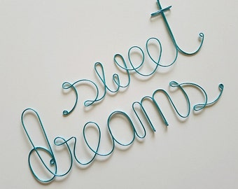 SWEET DREAMS Baby Boy Nursery Sign, Newborn Wall Decoration, Baby Boy Nursery Wall Decoration, Baby Shower Gift, Custom Housewarming Gift