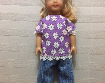 Mini AG doll pants outfit