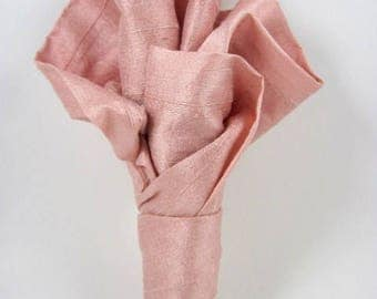 Pink boutonniere - wedding - wedding accessories - wedding suit - groom - custom color