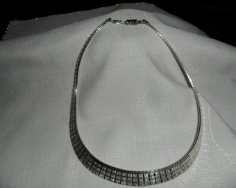 Vintage Sterling Silver Neck Collar