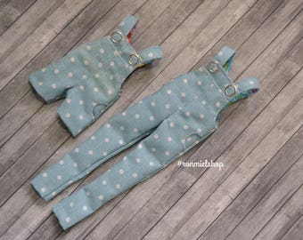 BLYTHE Overall Dotted Denim