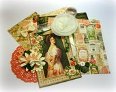 NEW Graphic 45 Portrait of a Lady Inspiration Kit Embellishment Kit Ephemera Kit for Scrapbooking Cards Mini Albums Tags and Paper crafts