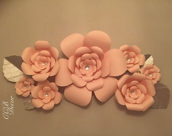 Handmade Paper Roses Made to order