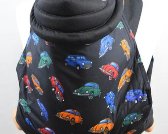 MEI TAI Baby Carrier / Sling / Reversible/ Beetle in straight cut model / Cotton / Made in UK / Handmade
