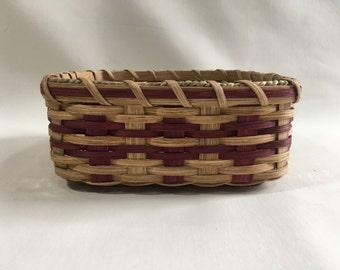 Bread Basket-Fruit Basket-Handwoven Basket-Square Basket