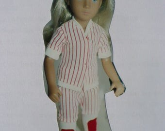 Sasha Baseball Uniform Pattern