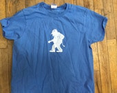 Norwegian Troll Shirt blue woman's fitted