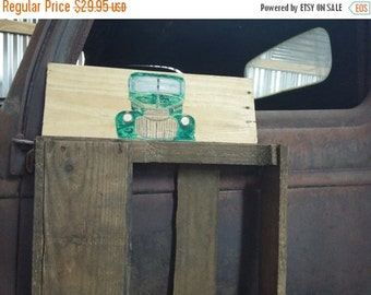 Vintage Style Wooden Handpainted 1946 Chevrolet Truck Sign Reclaimed Wood Personalized