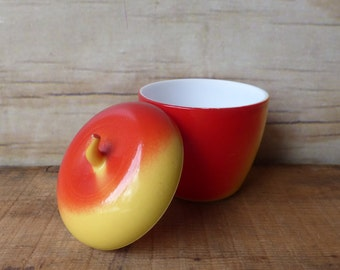Vintage Hazel Atlas Apple Jam Jelly Jar
