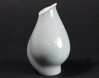 Rosenthal Art Porcelain Vase With Seven Faces 50s Key Design Orchids Vase Heidenreich Sieben Gesichter