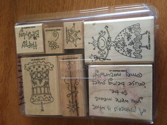 Pretty princess 2004 stampin up stamp set from babs808 on for Stampin pretty craft room