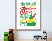 Elf Movie, Buddy The Elf, Christmas Decorations, Movie Quotes, The Best Way To Spread Christmas Cheer is Singing Loud for All To Hear