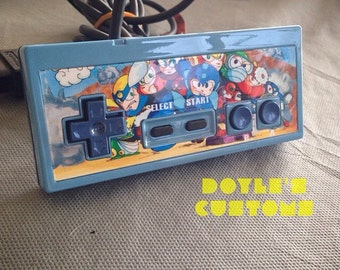 Megaman themed nes custom controller made to order
