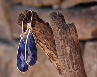 Faded Blues - Statement Earrings.