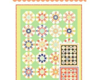 Ferris Wheel Jelly Roll Quilt Pattern by Joanna Figueroa of Fig Tree Quilts