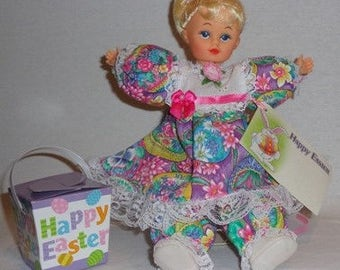 Tonya, one of a kind, Caucasian Easter collectible doll, ooak