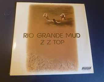 ZZ Top Rio Grande Mud Vinyl Record  XPS 612 1972 London Records