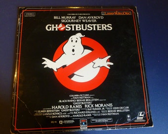 Ghostbusters LaserVideoDisc Movie 1985