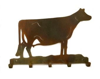 Jersey Key Rack Animal Wall Art Holstein Decor Wall Decor Home Decor