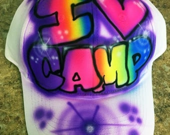 SALE Airbrushed Hat