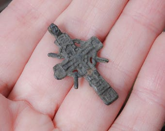 Antique Old cross Christian Cross pendant. Orthodox church