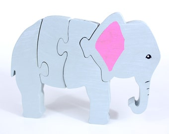 Elephant Puzzle and Room Decor