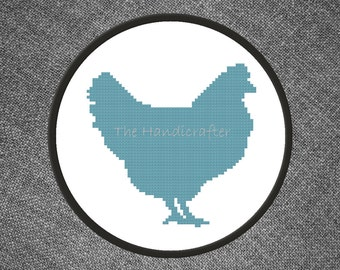 Chicken Cross Stitch Pattern