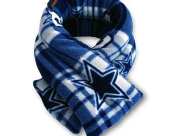 Football NFL Dallas Cowboys Microwave Hot Cold Body Wrap, 5x26, Rice, Neck Moist Heat, Anti-pil Fleece, Spot Clean
