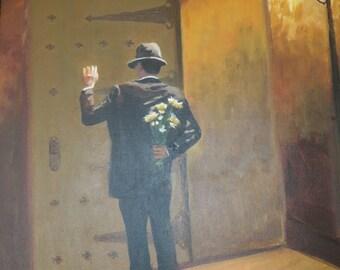 Date Night - original oil painting