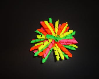 Neon Korker Hair Bow