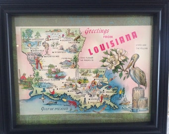 Vintage louisiana Etsy