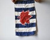 Vintage Canadian Boat Flag