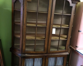 Amazing Country French China Cabinet