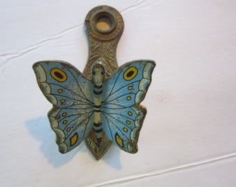 brass butterfly paper letter holder wall mount allied brass