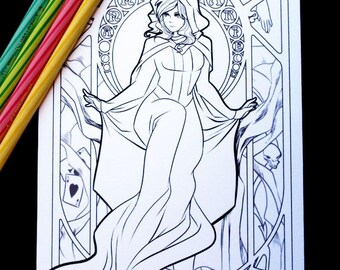 Gone Rogue Colouring Sheet