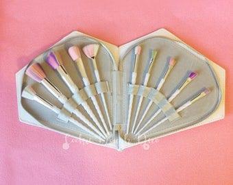 FREE SHIPPING  Unicorn Horn Makeup Brushes Brush Set with Diamond Case Option