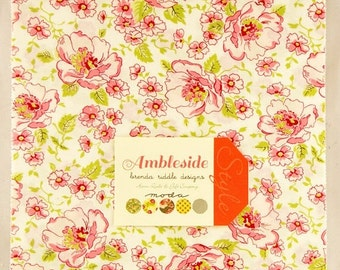 Ambleside Moda Layer Cake by Brenda Riddle 10 inch squares Ready to Ship