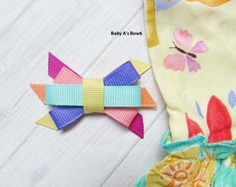 Matilda Jane Hairbow, Matilda Jane Bow, Matilda Jane Clothing, M2M Matilda Jane, Matilda Jane Adventure, Spring Hairbow, Girls Hair Bow