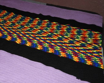 Full bed/Couch Crocheted Afghan