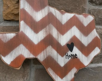 Texas wood shape, You choose your state wood cutout, Texas door decor, Texas home decor, State wood cutout-18 inches