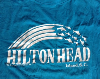 1986 Hilton Head Island South Carolina t shirt USA XL