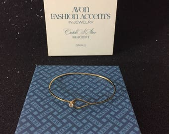 1976 Never Worn Vintage AVON Catch A Star Bracelet In A Size Small ~ Deadstock Vintage Jewelry At Hope Knows Vintage ~ Authentic Vintage
