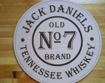 Jack Daniels Wood Sign