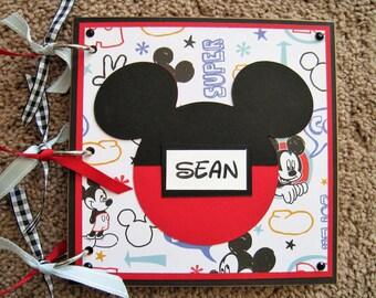 Disney Autograph Book - Doodle Mickey Mouse