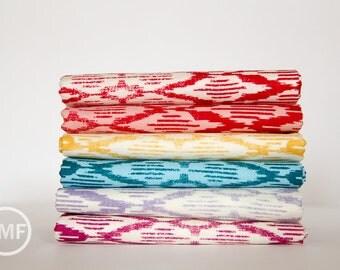 Fat Quarter Bundle Spellbound Ikat, 6 Pieces, Urban Chiks, 100% Cotton, Moda Fabrics, 31116