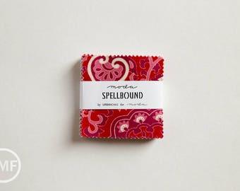 Spellbound Candy Pack, Mini Charm Pack, Urban Chiks, Moda Fabrics, Pre-Cut Fabric Squares, 31110MC