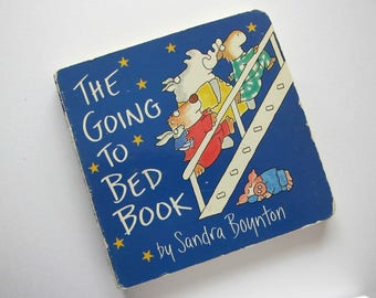 The GOING to BED Board Book, By Sandra Boynton, 1995 Book