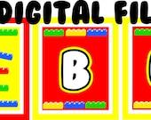 DIY DIGITAL Banner - Building Blocks
