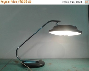 ON SALE Vintage Lupela lamp by Fase, Mid century lamp, made in spain  lamp,  desk lamp, retro lamp