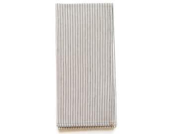 Black Pinstripe Shop Towel